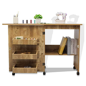 Albott Sewing Table Craft Cart