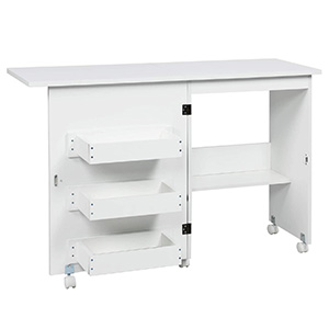 Sewing Machine Table Folding Cabinet